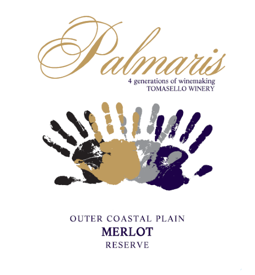 Product Image for Palmaris 2017 Outer Coastal Plain Merlot Reserve