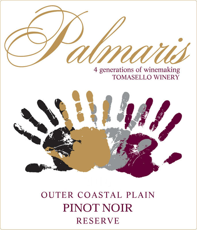 Product Image for Palmaris 2017 Outer Coastal Plain Pinot Noir